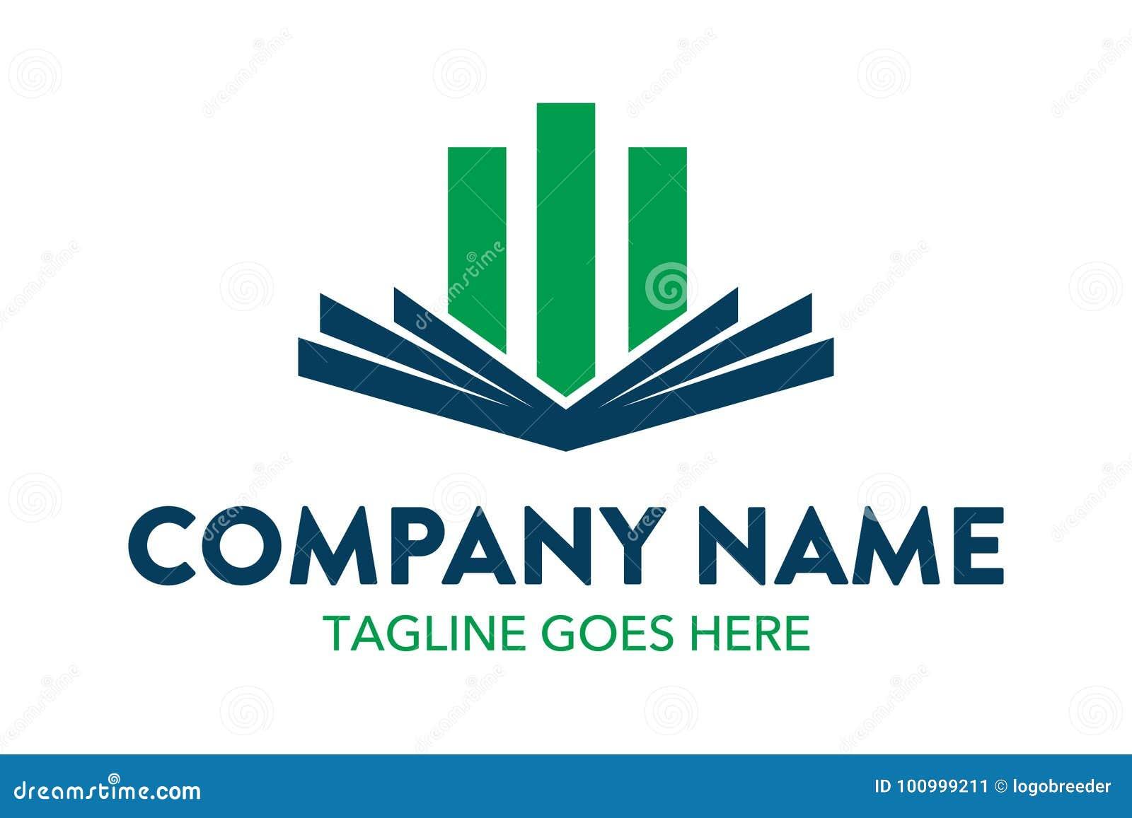 Unique And Original Education Logo Template Simple Shape Minimalist Color Memorable
