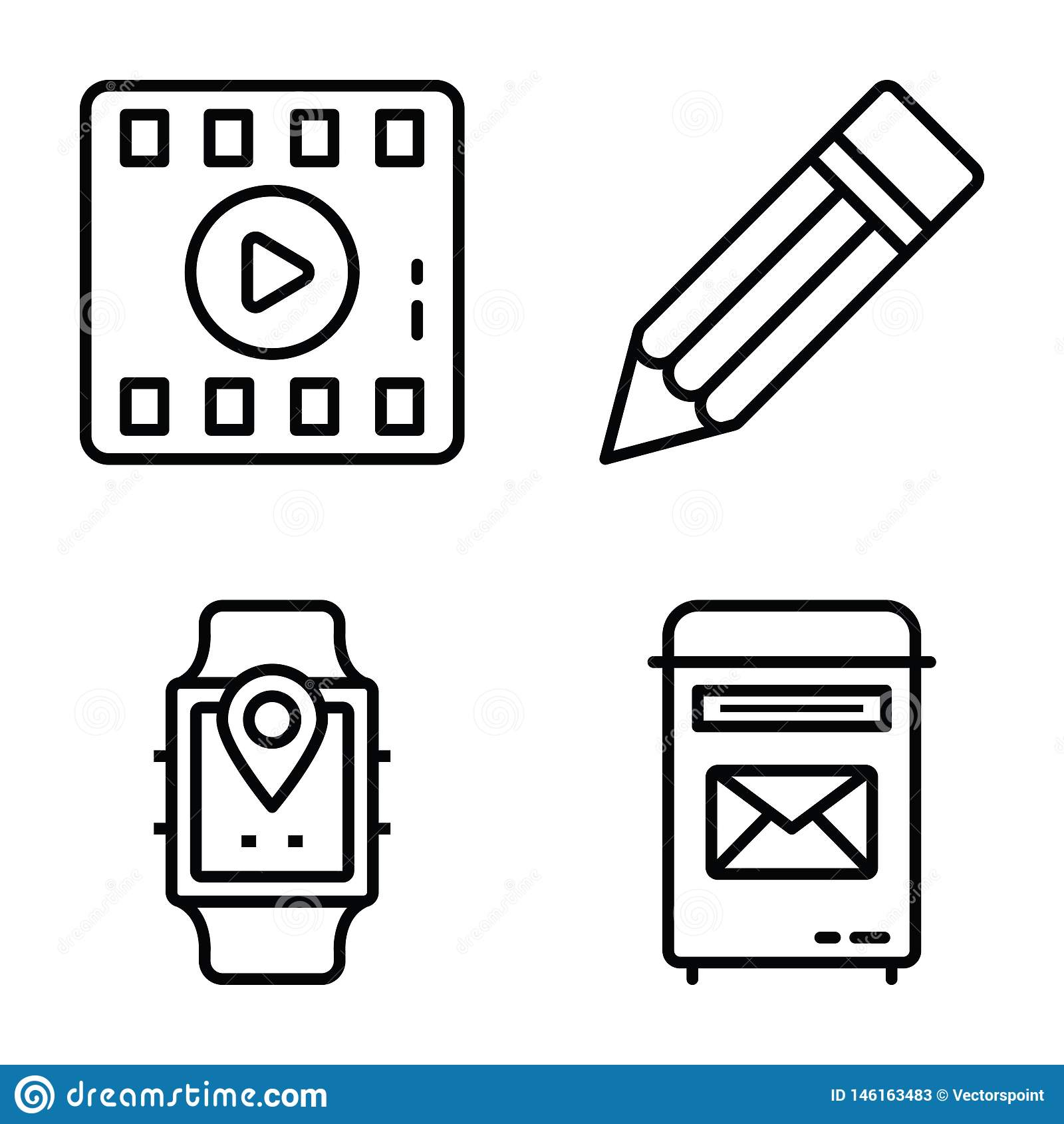 Data Communication Vector Icons Pack
