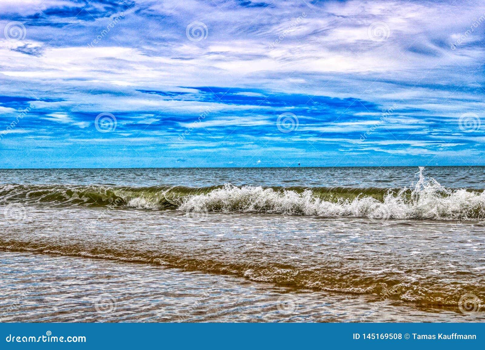 The natural beach of Ban Krut in Thailand