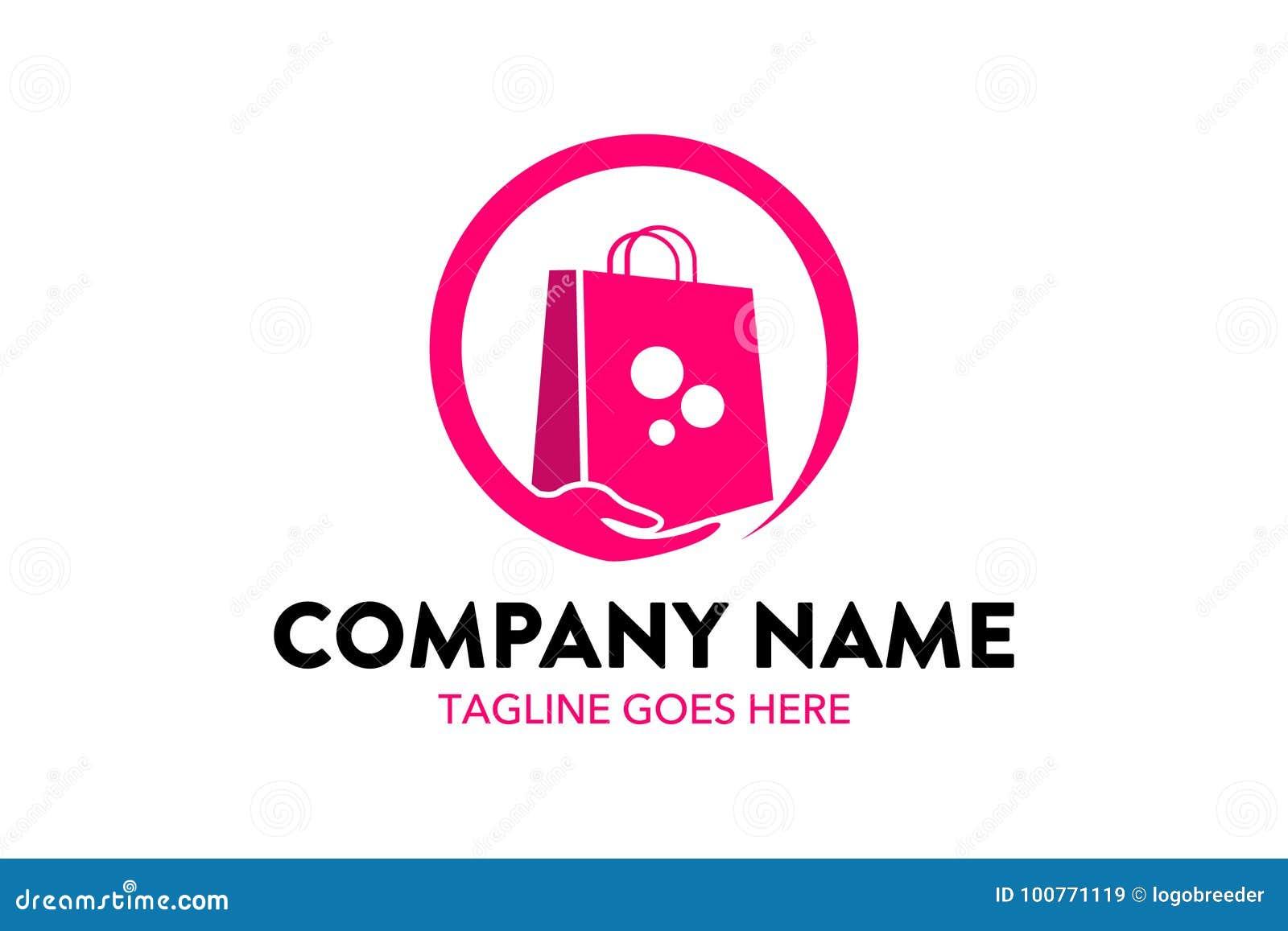 Supermarket Shopping Cart Logo Template Stock Illustrations – 516 ...