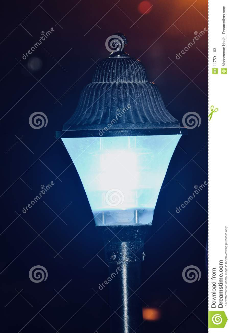 Download Beautiful Street Lamp  Electric Object Photo Stock Image - Image of unique, electric: 117591103