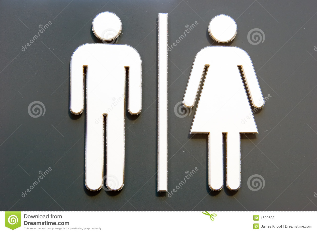 unisex door symbol stock photos image 1500683