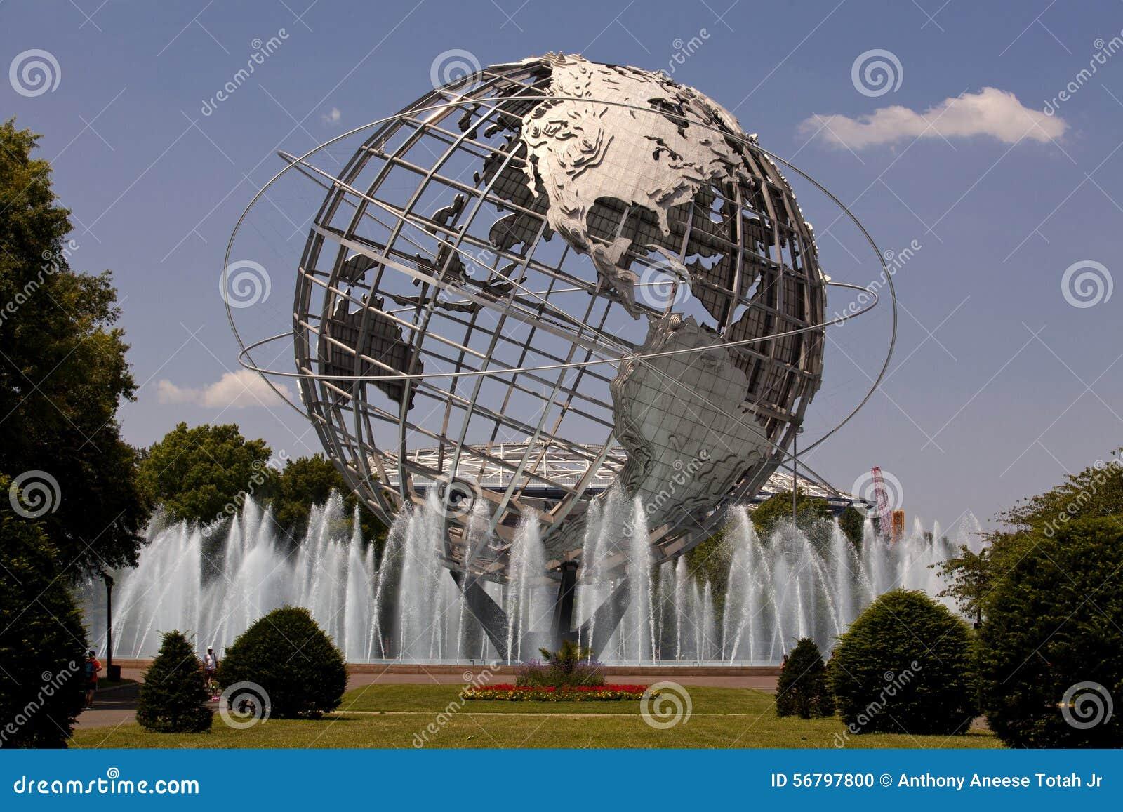 Unisphere in Fushing Meadows Corona Park, Queens - New York