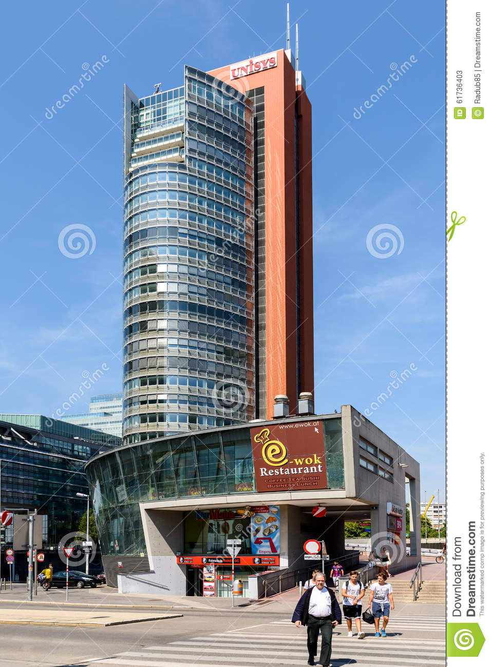 Unisys tower skyscraper in vienna editorial stock photo image of download unisys tower skyscraper in vienna editorial stock photo image of information contemporary stopboris Image collections