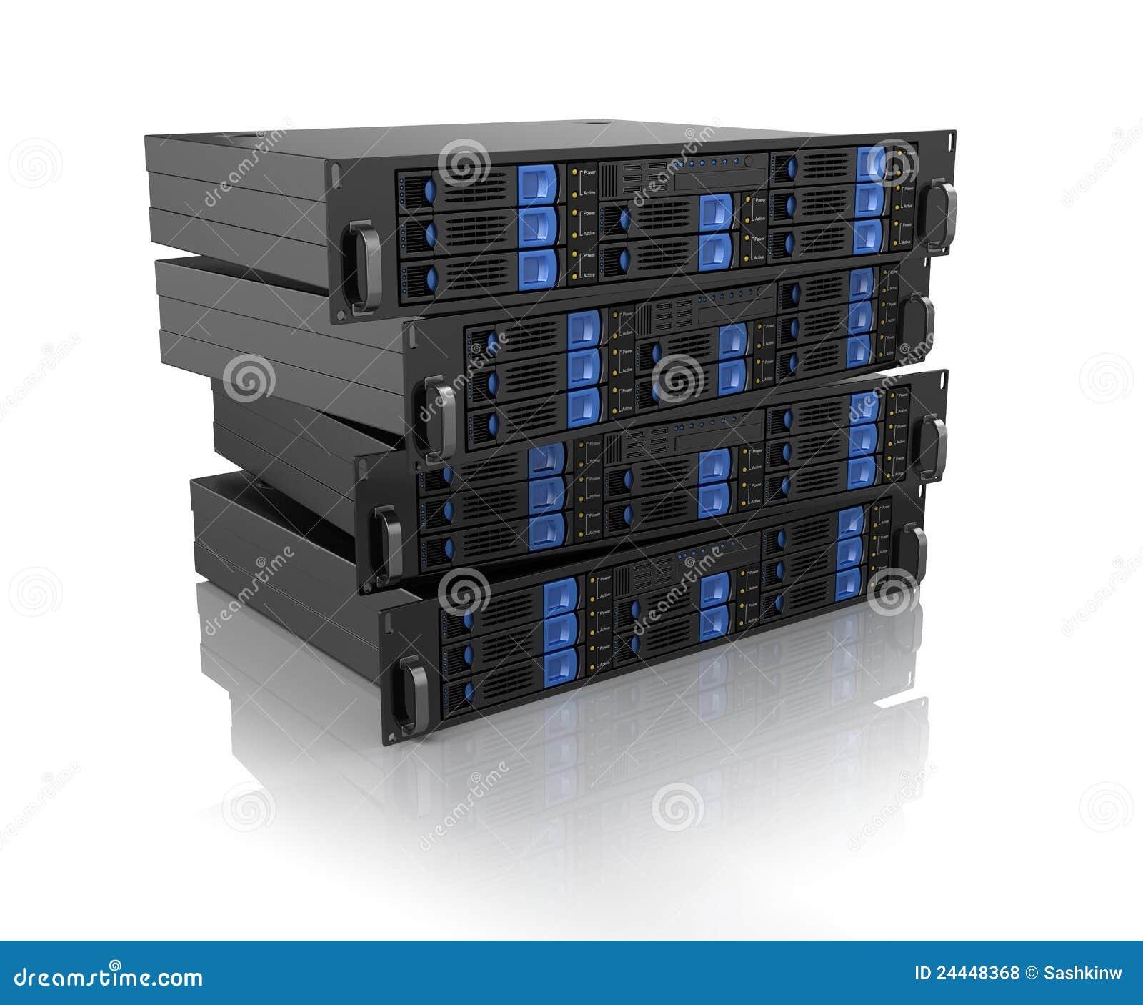 Unità del server del calcolatore