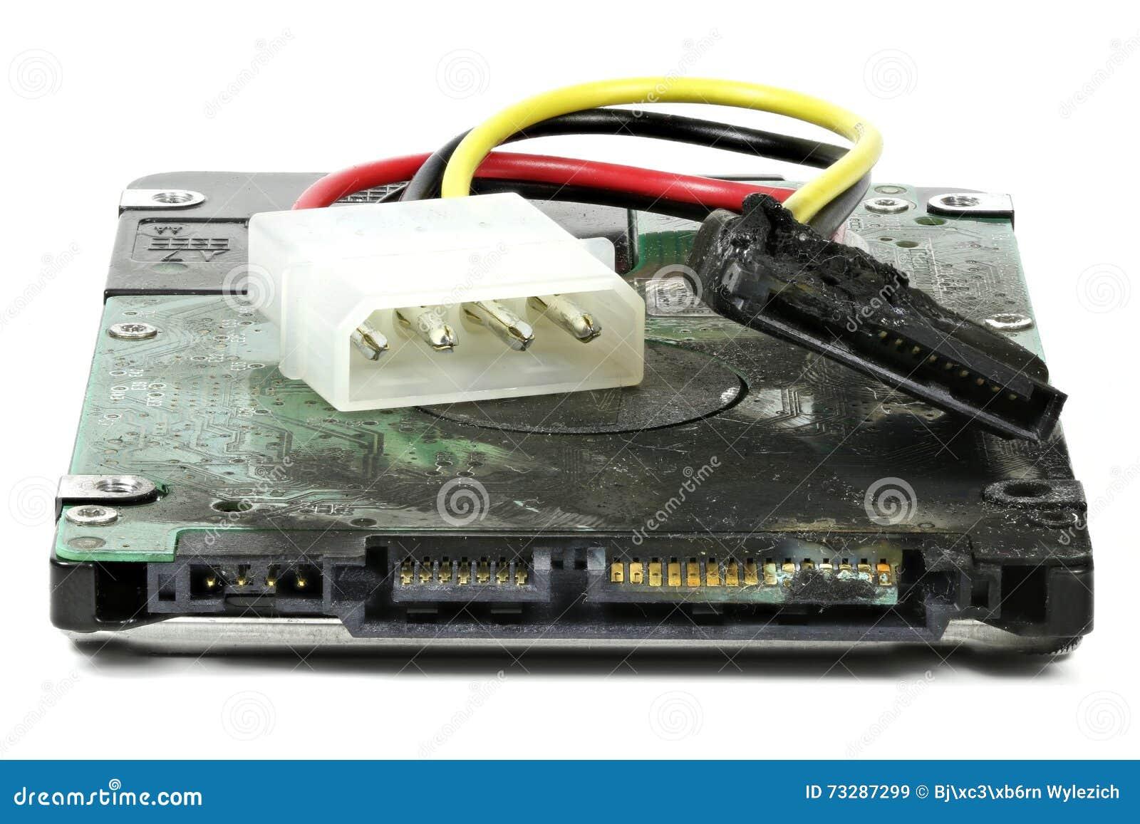 Unité de disque dur carbonisée