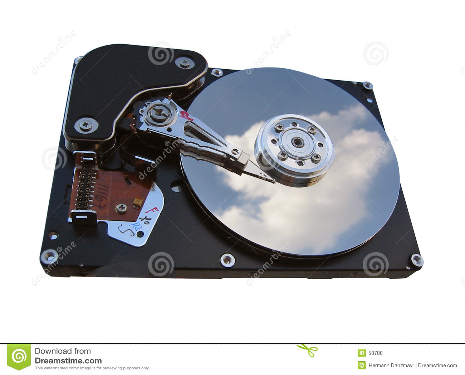 Download Unité De Disque Dur D'ordinateur Photo stock - Image du données, matériel: 58780