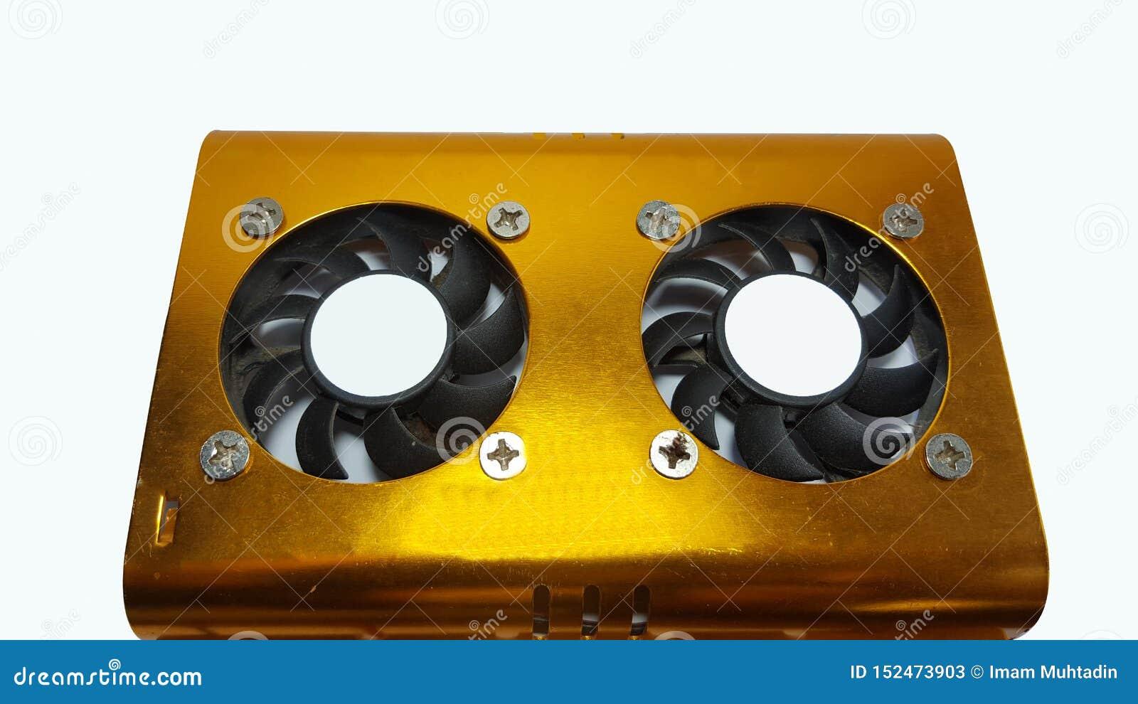 Unité de disque dur de ventilateur avec un grand choix de couleurs d or jaune