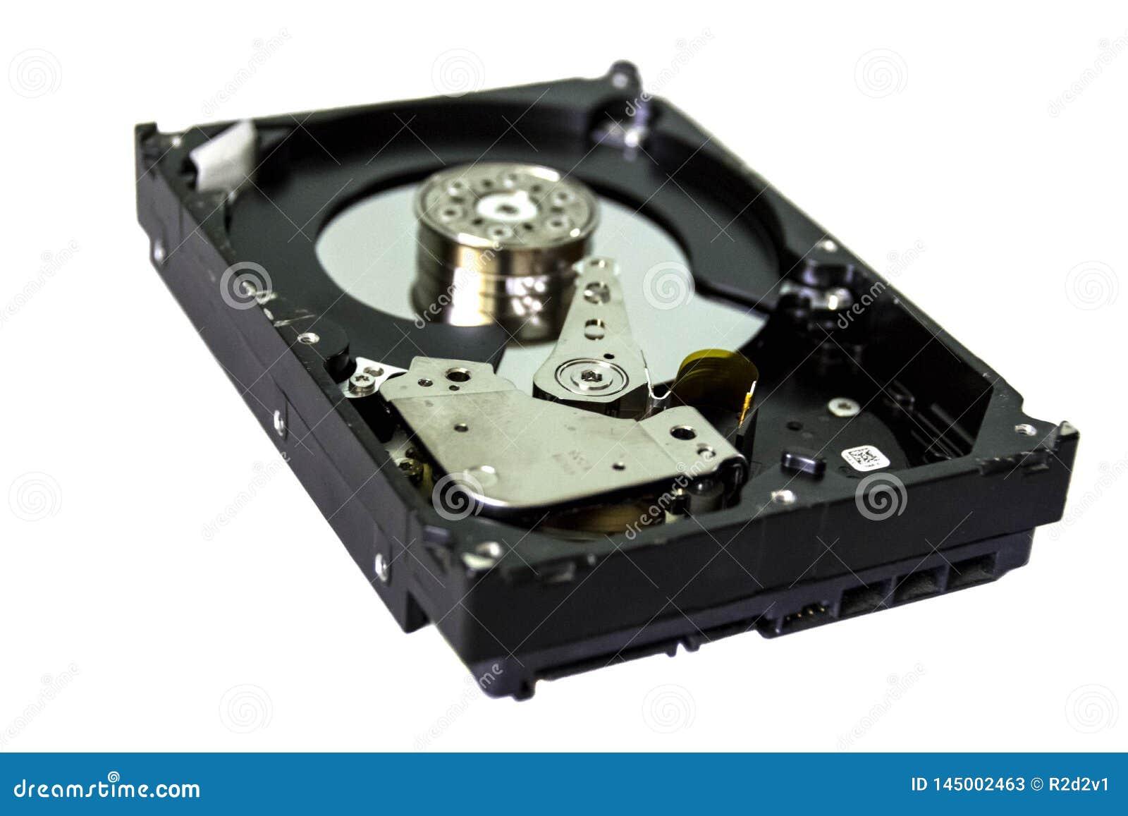 Unit? de disque dur hdd ouvert
