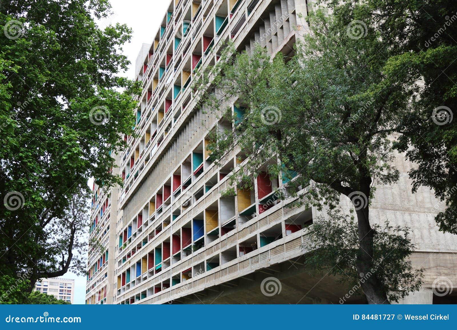 Unite d'Habitation in Marseille, Frankrijk