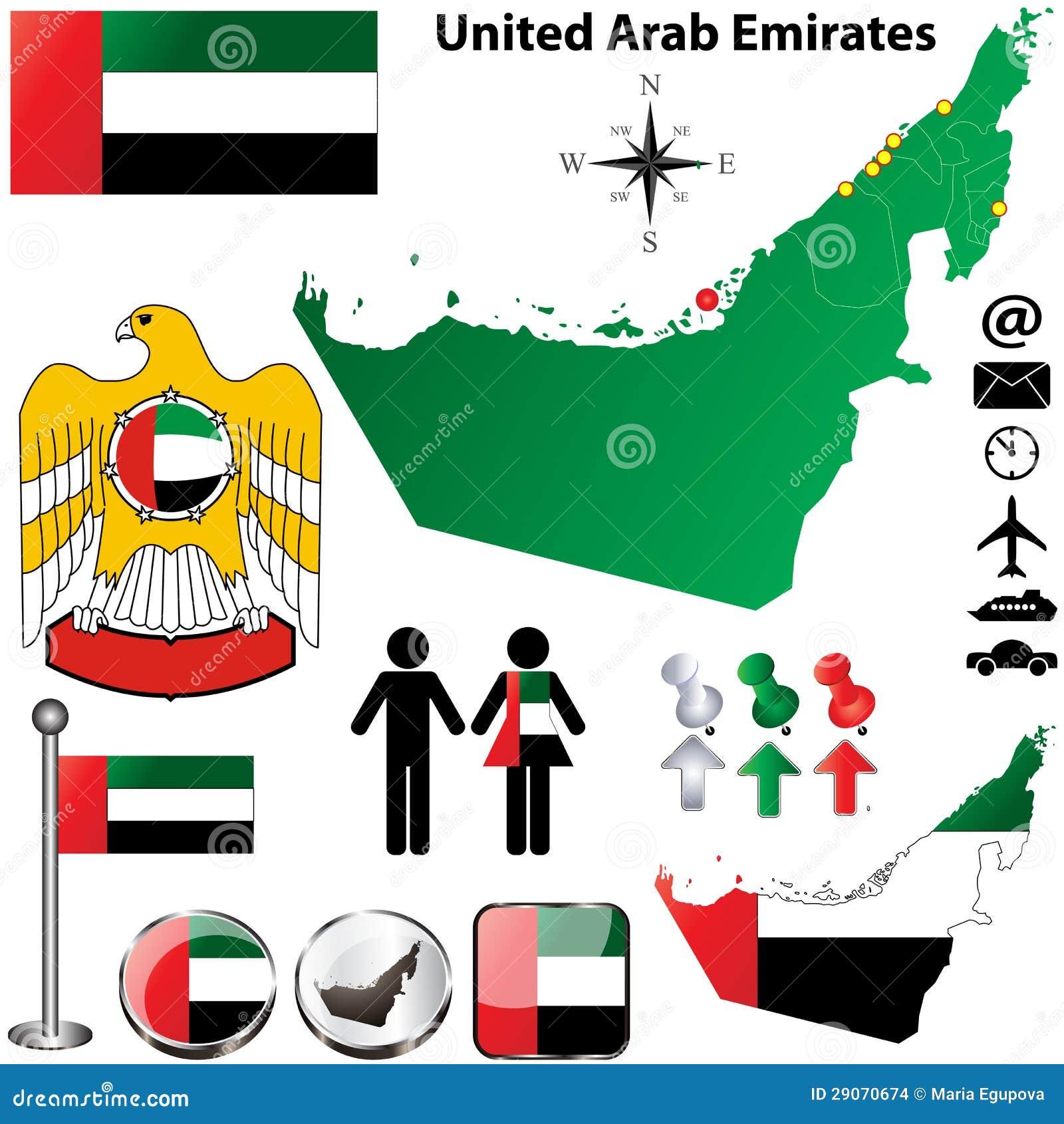 United Arab Emirates kartlägger
