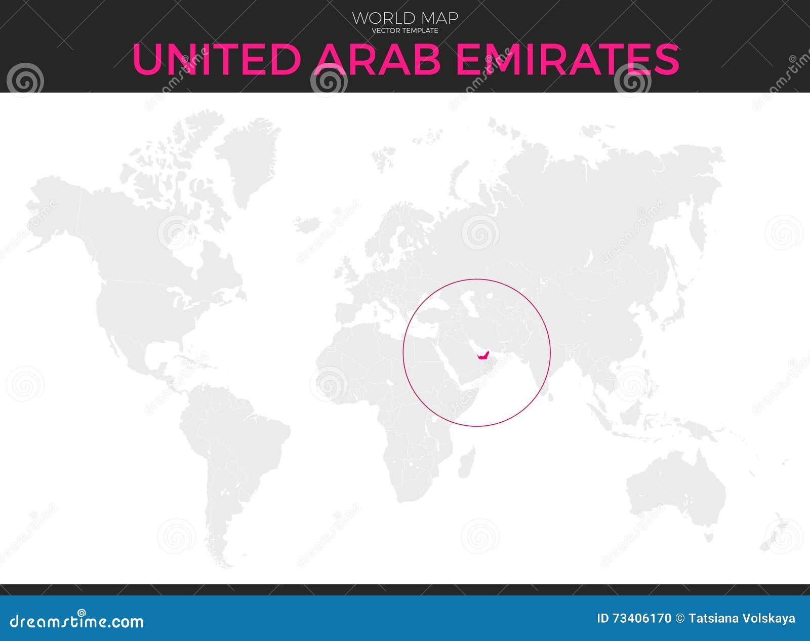 United Arab Emirates Location Map Stock Vector ... on afghanistan world map, sierra leone world map, norway world map, bahrain world map, china world map, persian gulf map, uganda world map, uzbekistan world map, slovakia world map, arabian sea world map, jordan world map, cambodia world map, austria world map, iraq world map, sudan world map, middle east map, cyprus world map, guatemala world map, pakistan world map, kuwait world map,