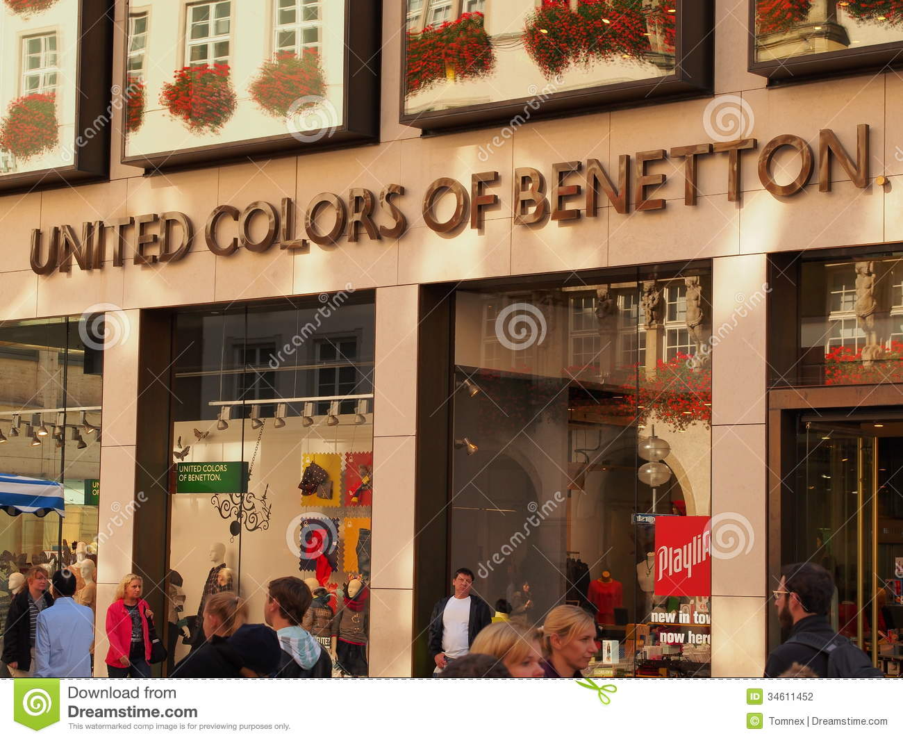 United colors of benetton editorial photography image for United colors of benetton usa