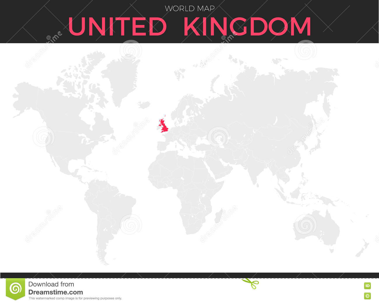 Image of: United Kingdom Location Map Stock Vector Illustration Of Place Country 73687818
