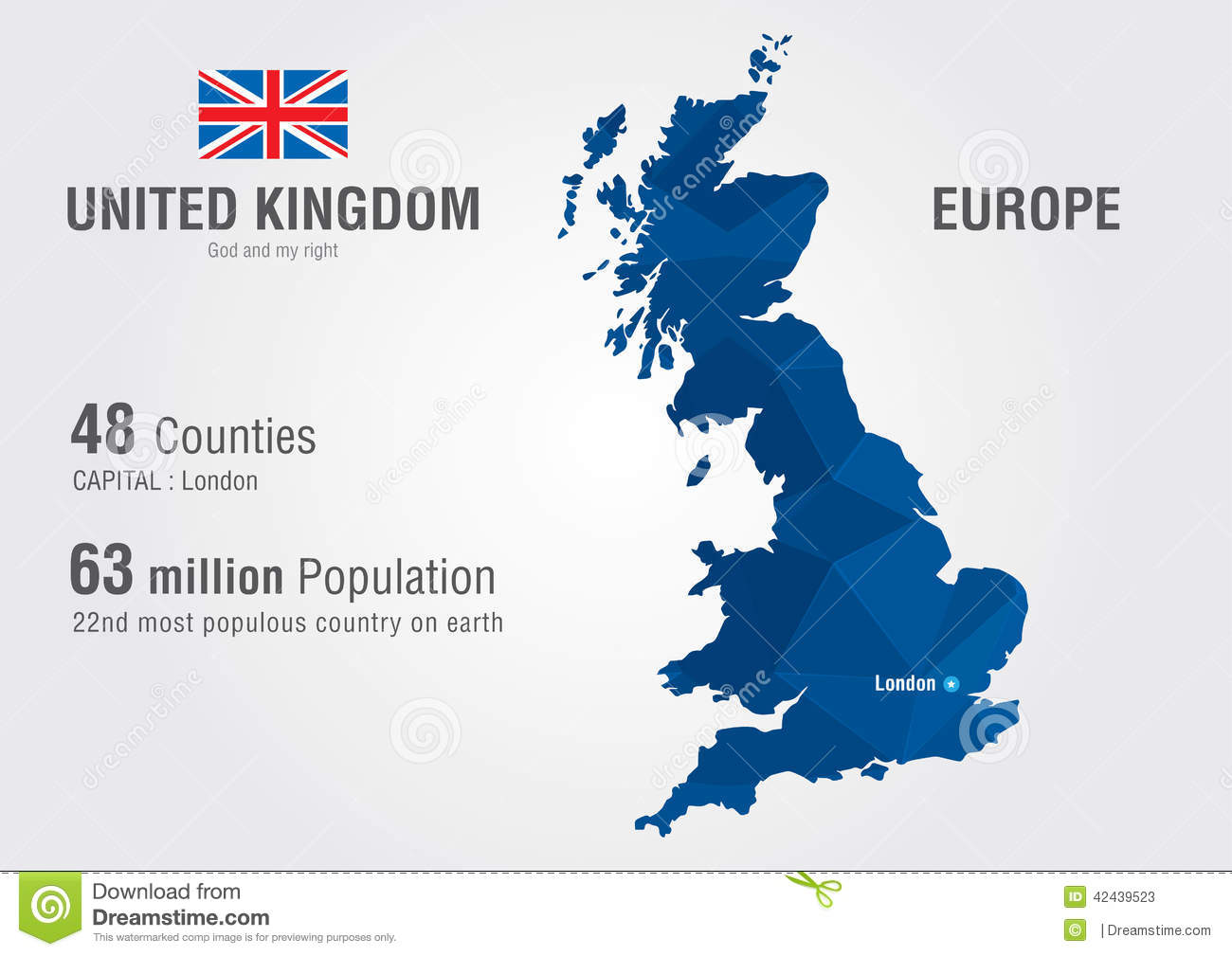 United Kingdom On The World Map.United Kingdom World Map England Map With A Pixel Diamond Texture