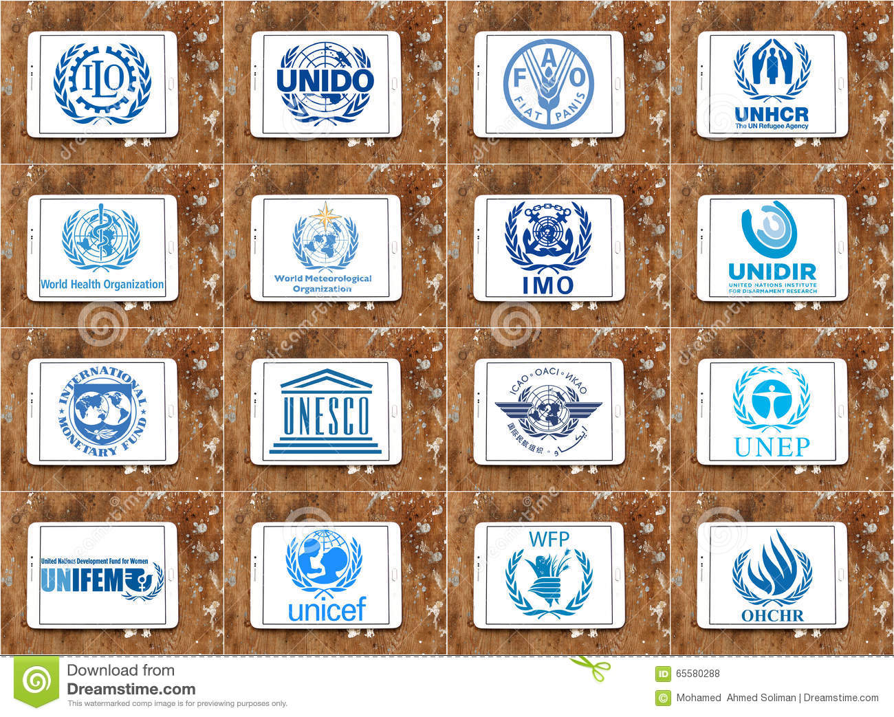 United Nations Agencies Logos Stock Images - Download 6 ...