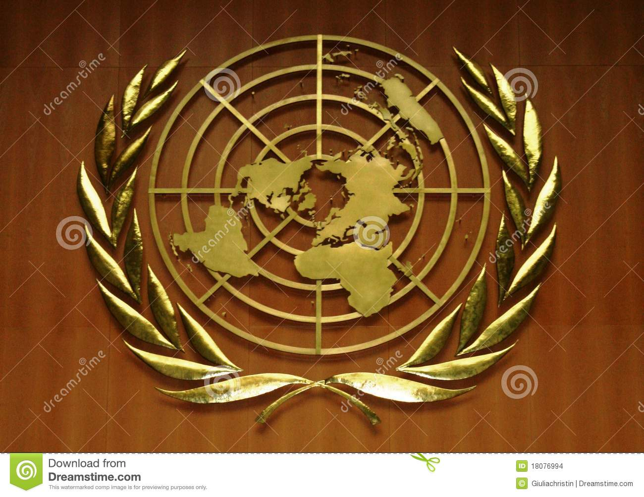 united nations logo editorial stock image image of nations 18076994. Black Bedroom Furniture Sets. Home Design Ideas
