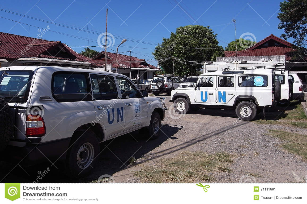 united nations motor park un cars editorial photo image