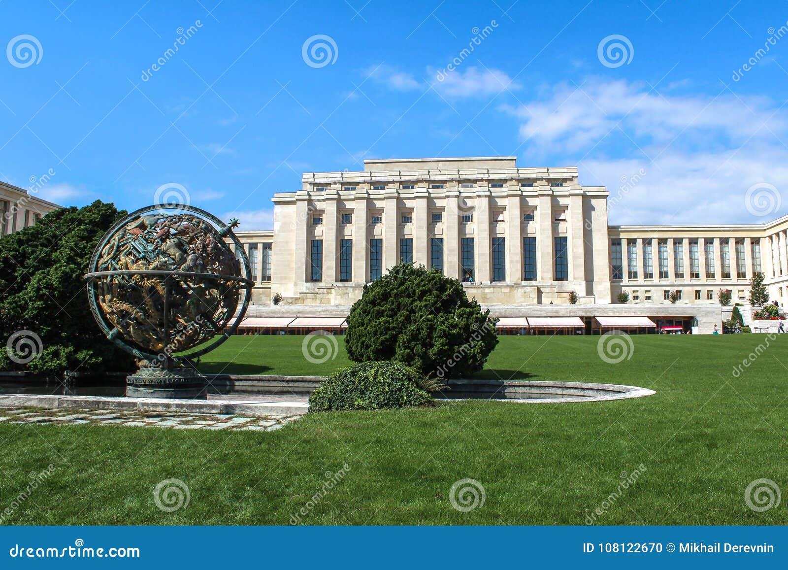 United nations organization. Geneva. Switzerland.