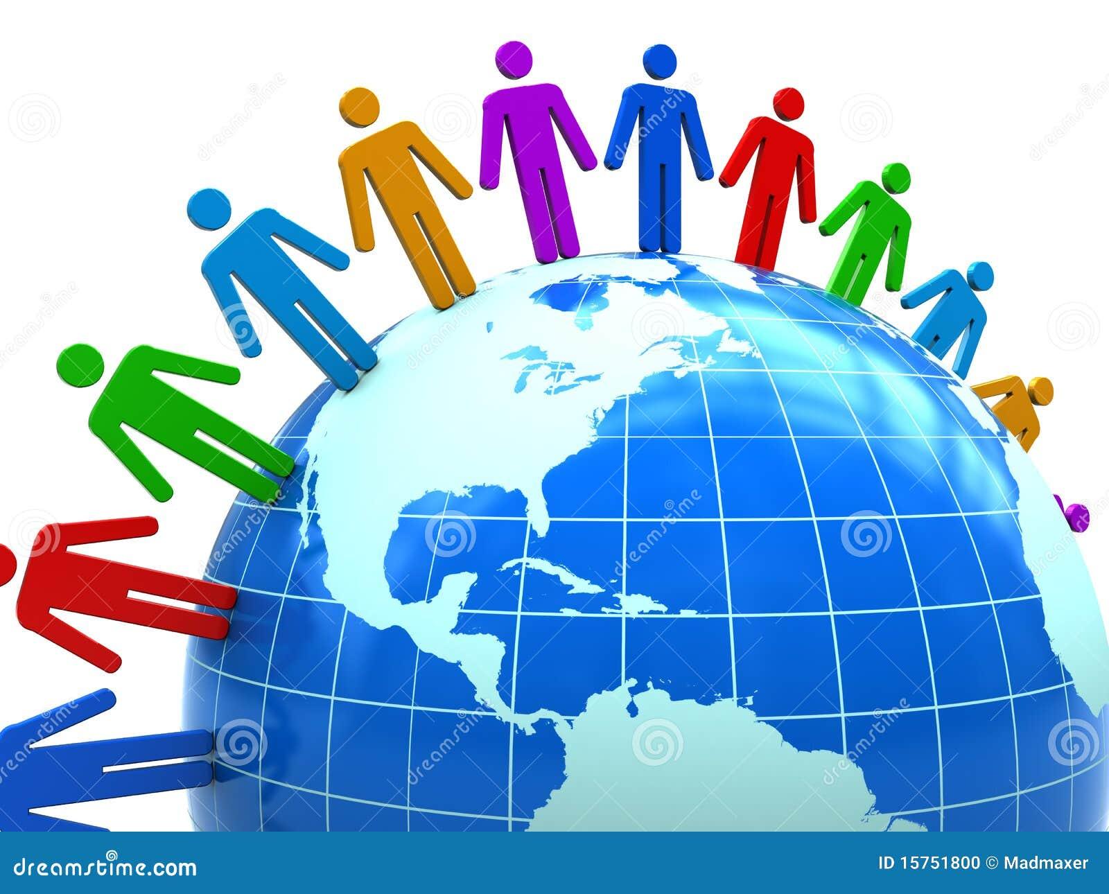 United People Stock Photo