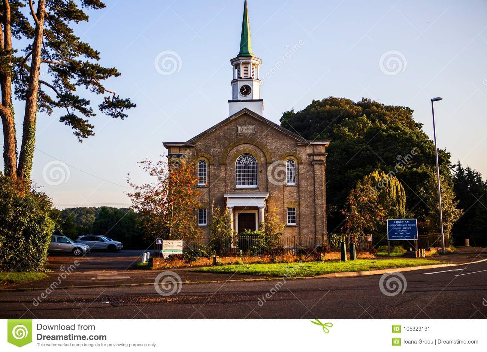 United reformed church in Longham, Wales