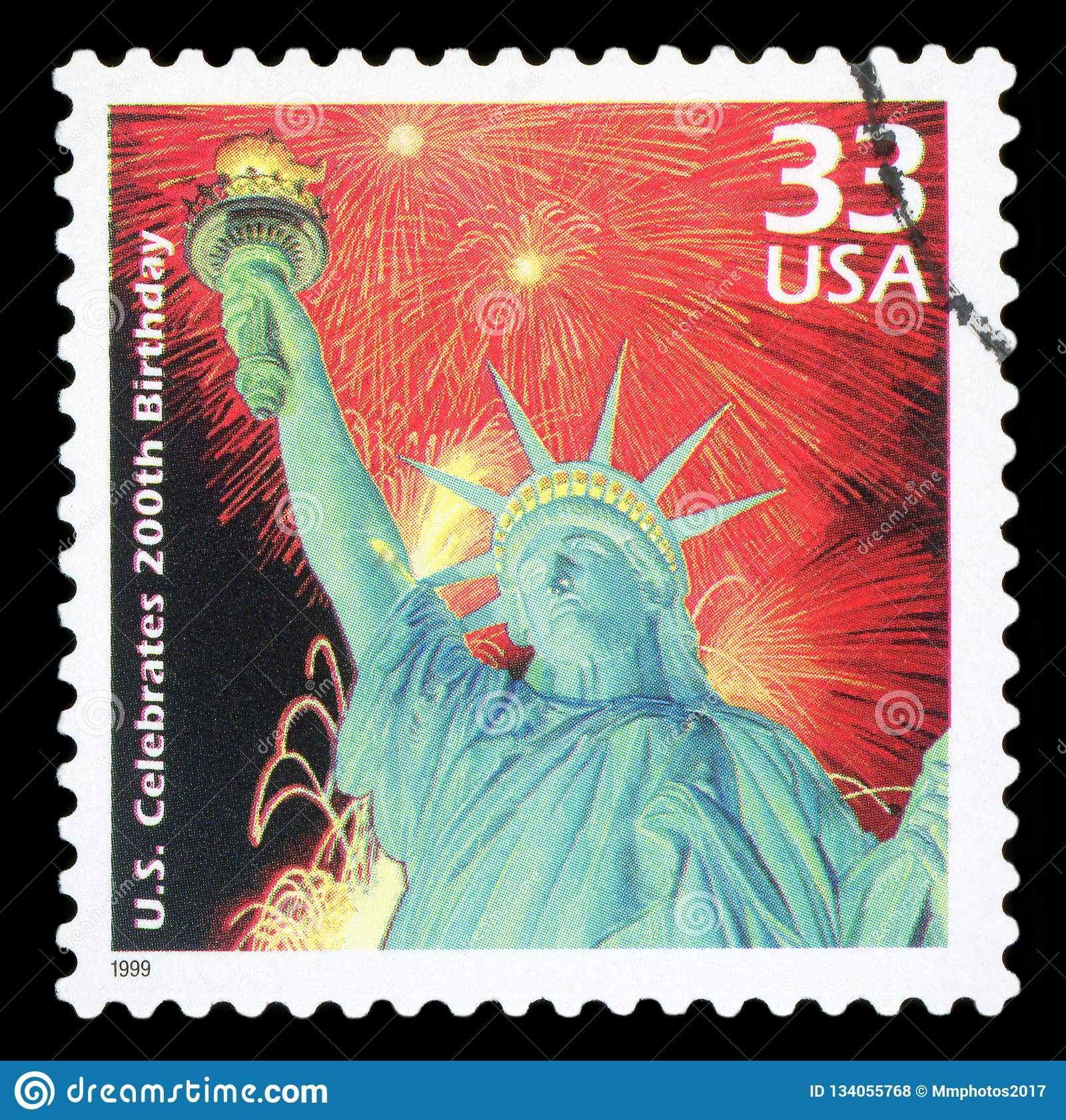 Us Postage Stamp Editorial Stock Photo Image Of Free