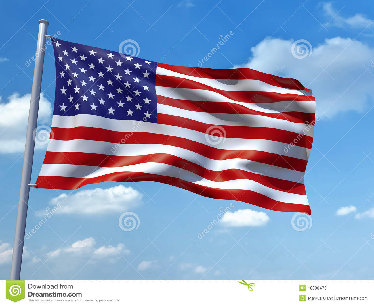 United States Of America Flag Royalty Free Stock Photos - Image ...