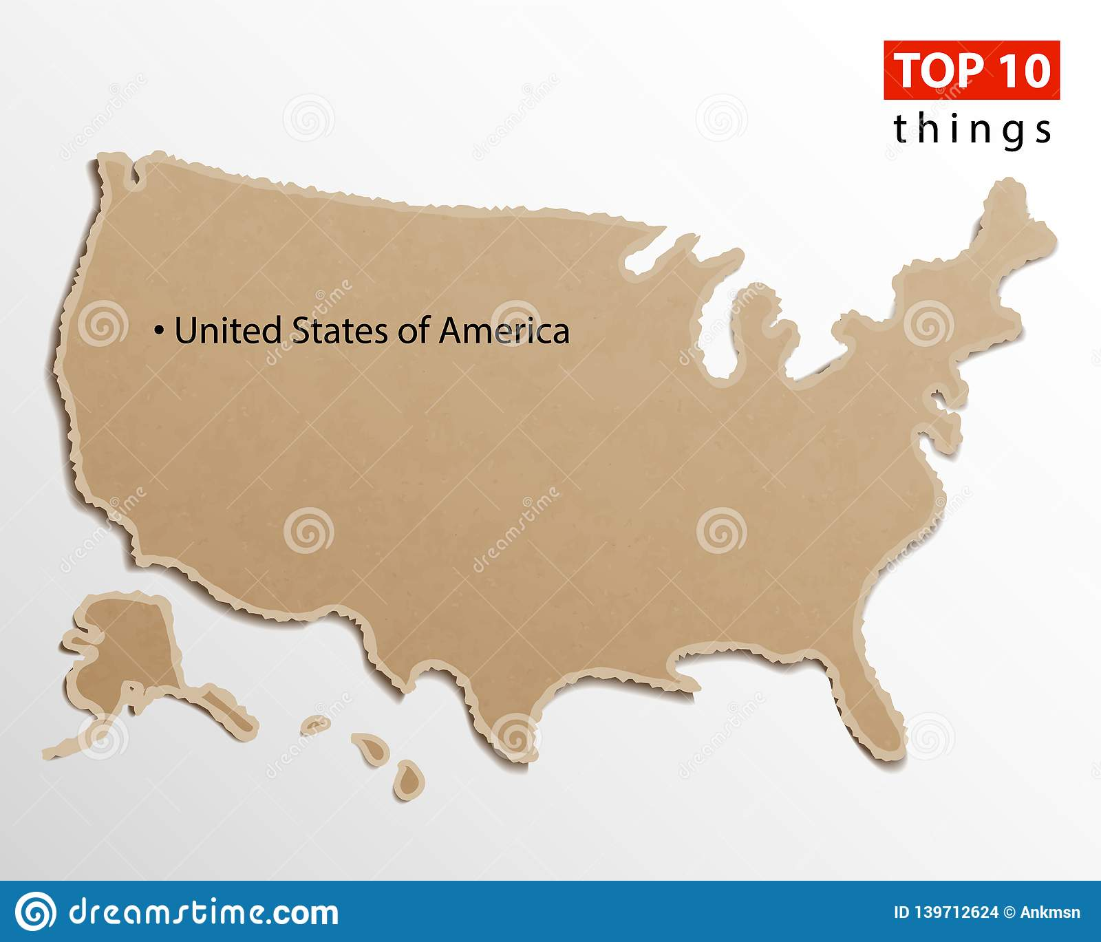 Maps Of United States America on