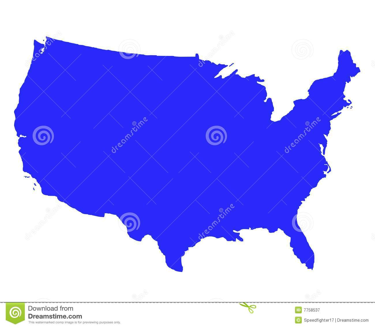 United States Of America USA Free Map Free Blank Map Free Outline - Free blank us map with state outlines