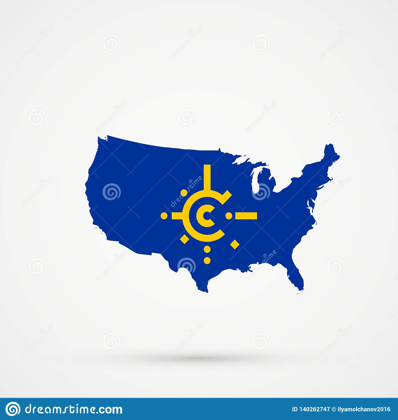 Central States In Usa on