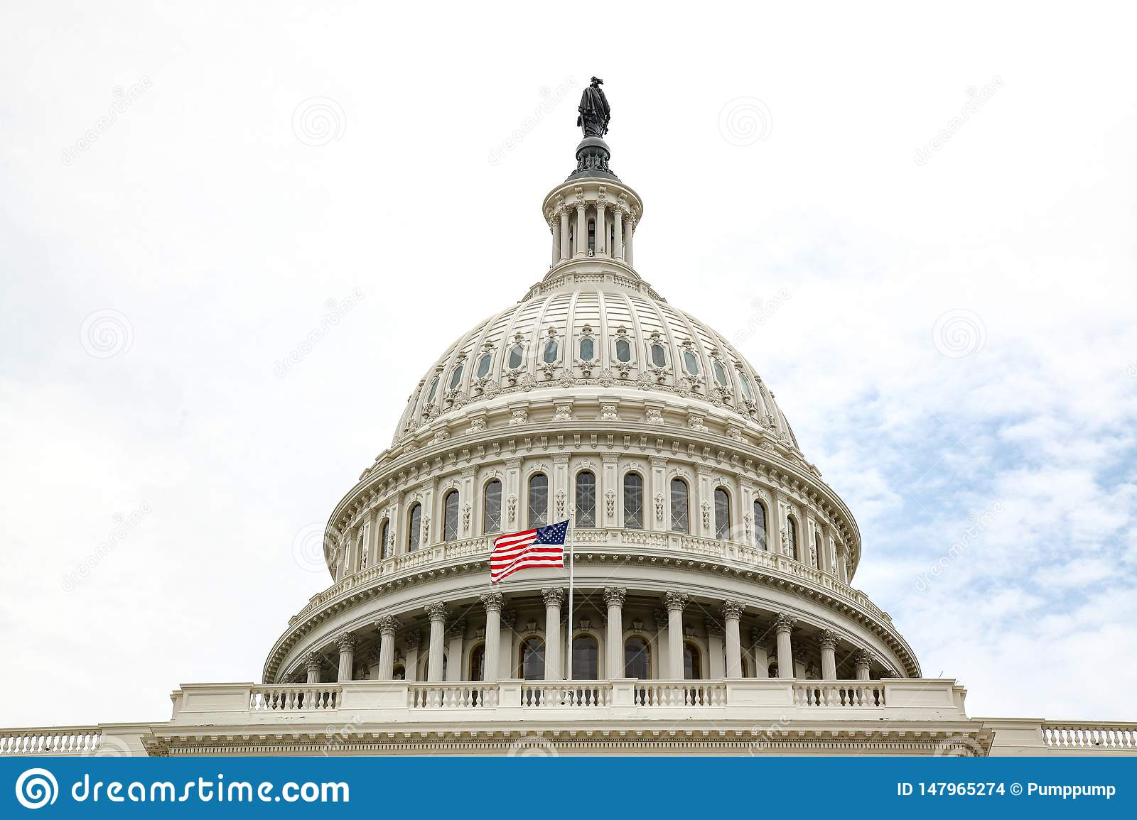 United States Capitol Building In Washington Dc Usa United States Congress Editorial Stock Image Image Of Dome Symbol 147965274