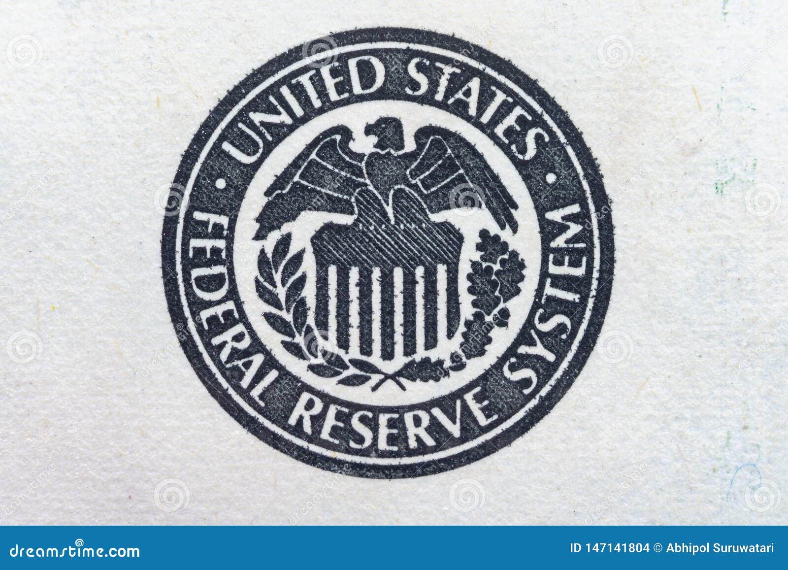 United States Federal Reserve System Symbol Eagle Logo Ultra