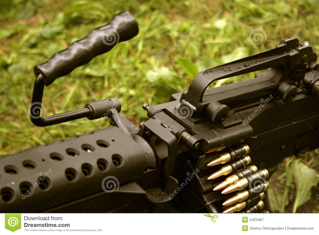 are machine guns in the united states