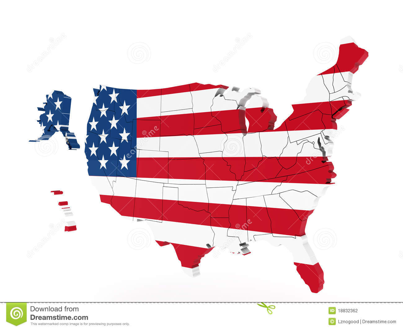 United States Map In Color Royalty Free Stock Images Image - United states map to color