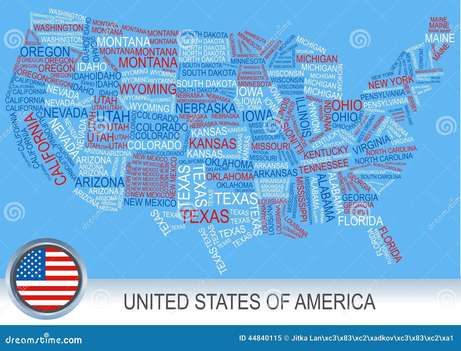 Ohio State Flag Button Stock Photo Image America Map Ohio