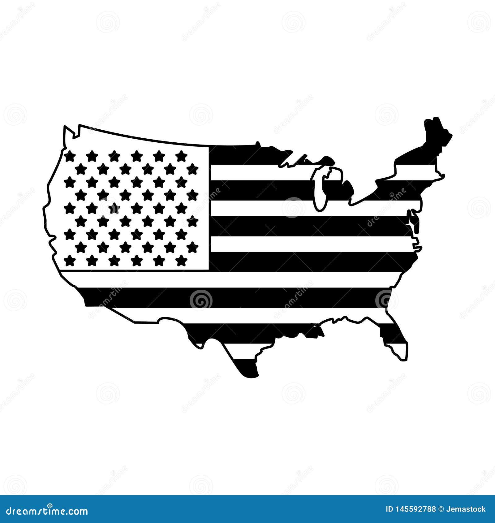 United States Map Outline Patriotic Isolated In Black And ... on black kentucky map, black ethiopia map, black panama map, black middle east map, black iowa map, us civil war railroad map, black western hemisphere map, black oklahoma map, black alaska map, black countries map, black north carolina, black germany map, black indiana map, black ghana map, african american population by state map, black globe, black france map, black idaho map, geothermal energy heat map, black michigan map,