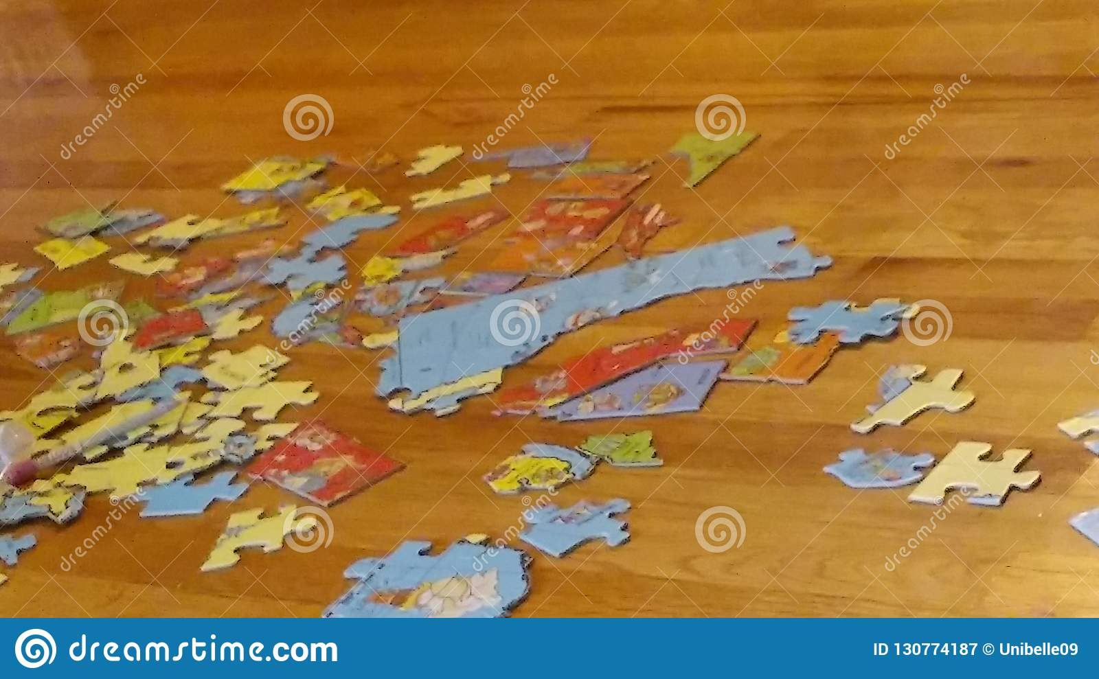 United States map puzzle stock image. Image of united ...