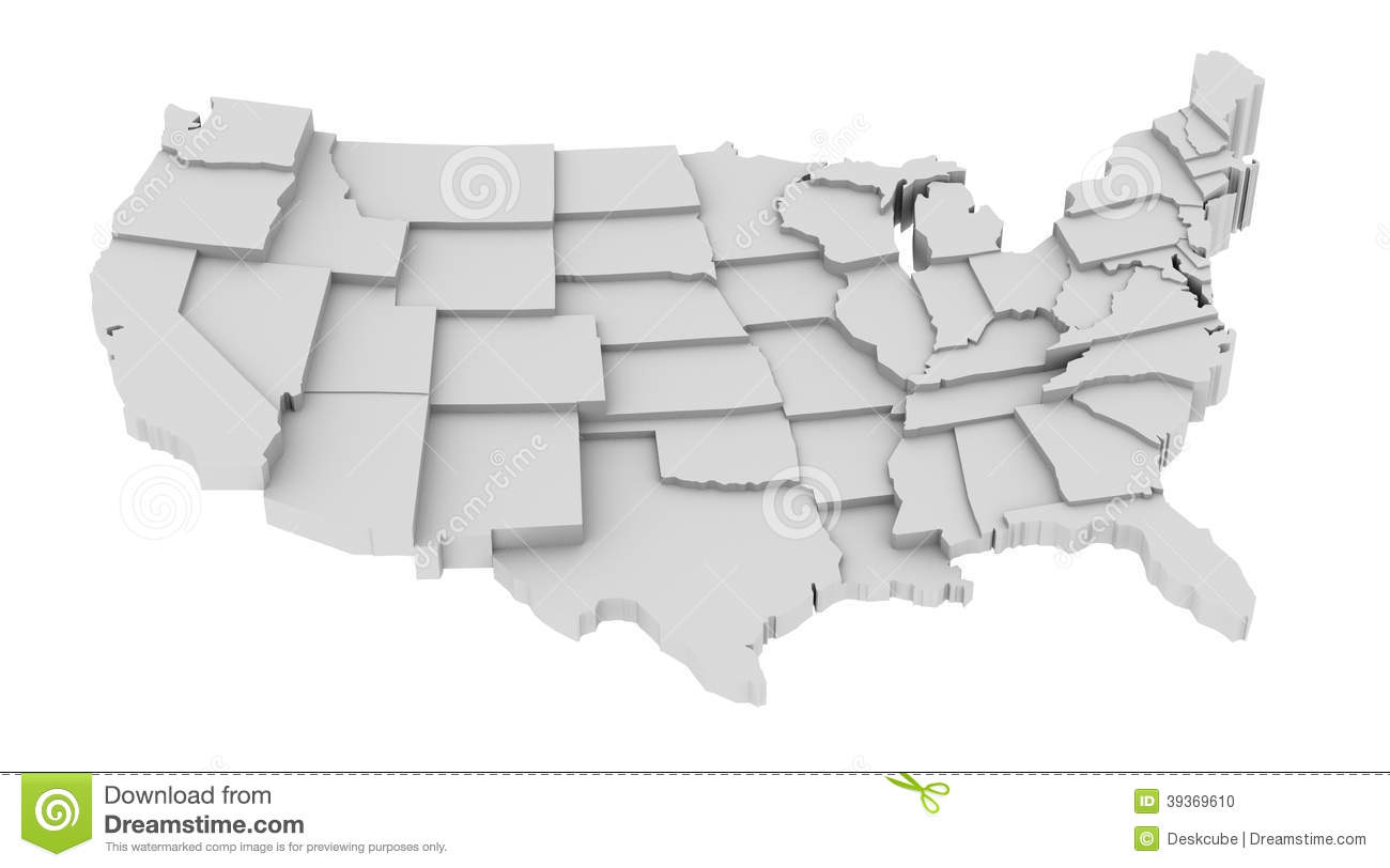 United States Map By States Image Logo High Levels Stock Vector - Us map logo