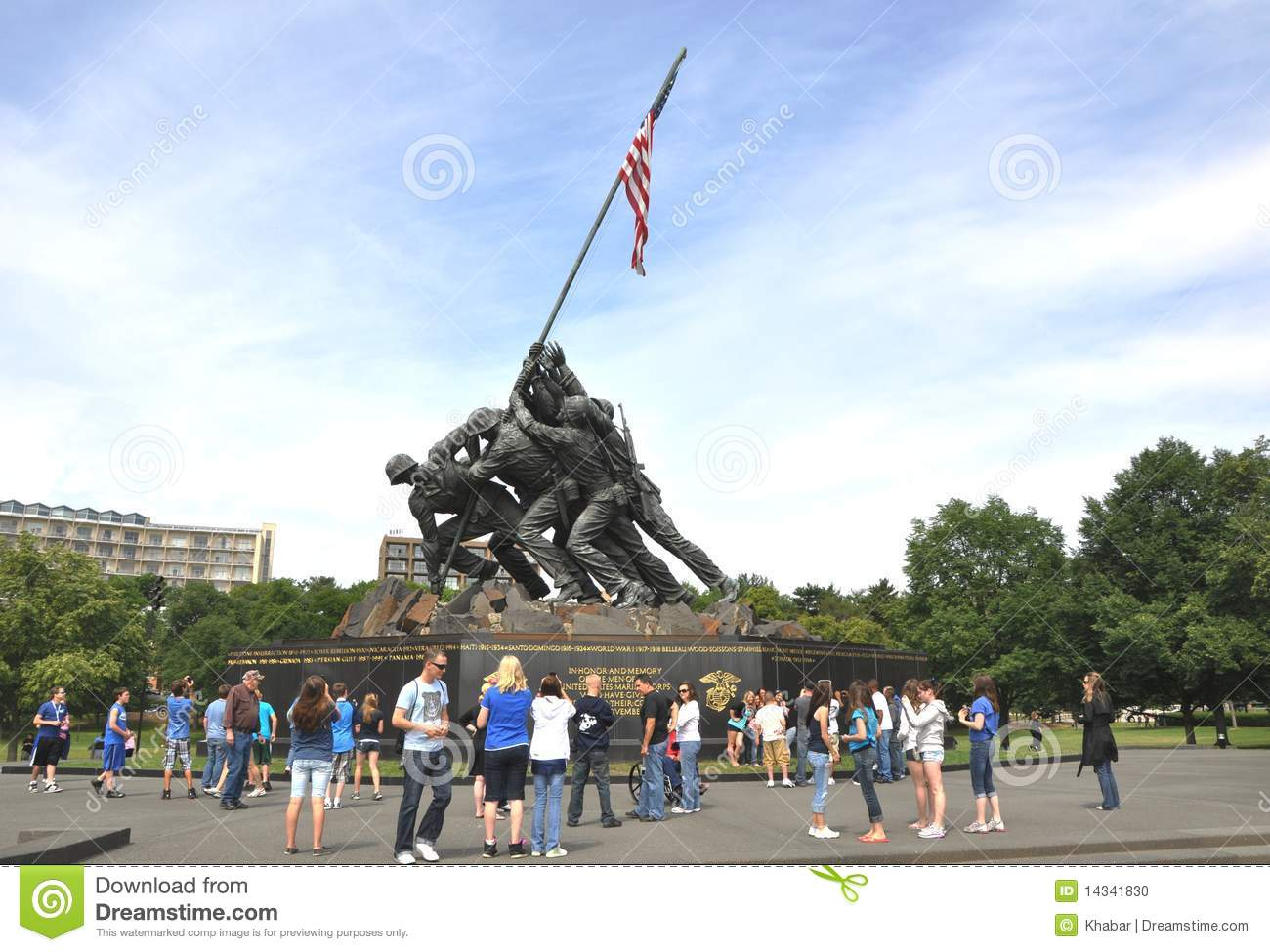an introduction to the marine corp memorial in the united states The marine corps war memorial the marine corps war memorial stands as a symbol of this grateful nation's esteem for the honored dead of the us marine corps while the statue depicts one of the most iconic photos of world war ii, the memorial is dedicated to all marines who have given their lives in the.