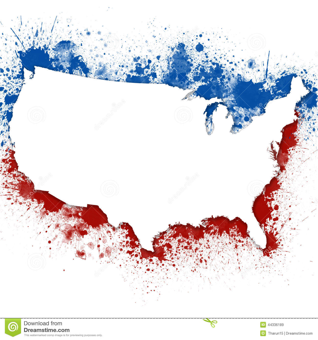 United States Patriotic Background Stock Photo - Image: 44336189