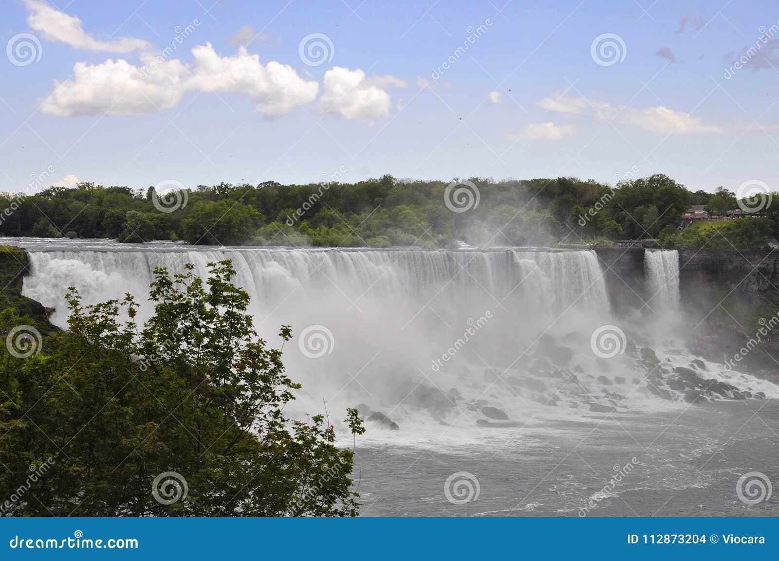 Niagara Falls 24th June United States Side From Niagara