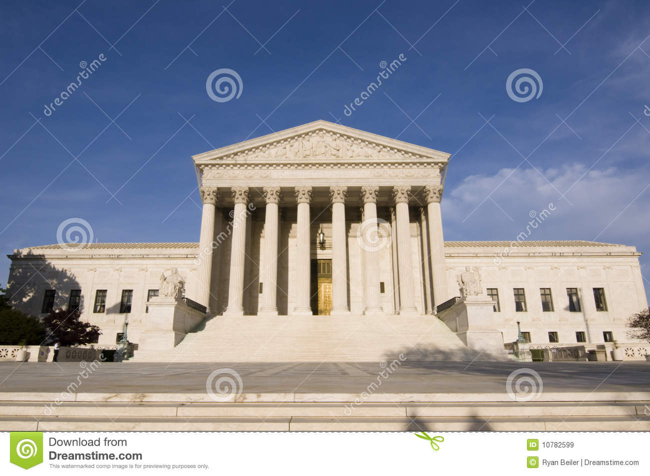 The two main purpose of the united states supreme court
