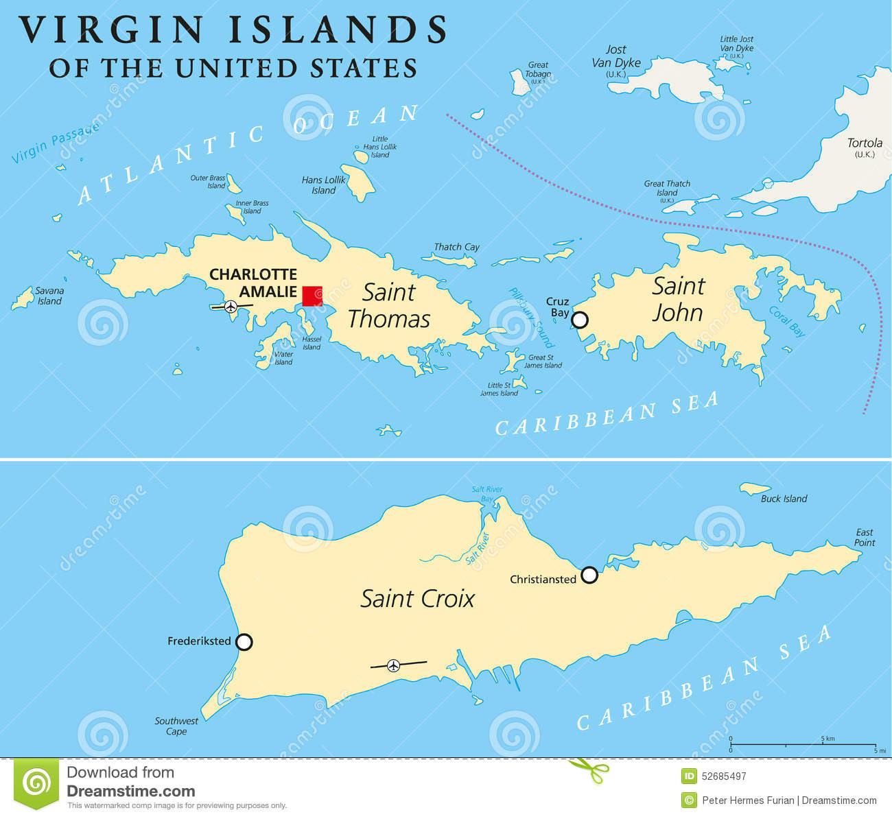 United states bought virgin islands