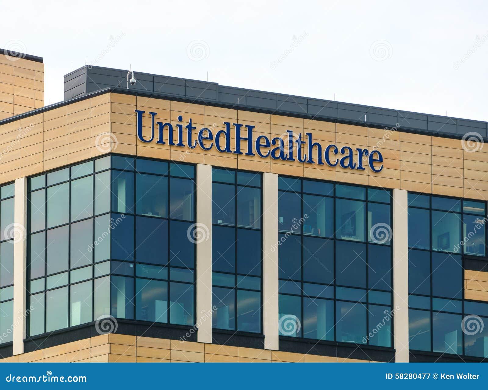 UnitedHealth Group Headquarters Building Editorial ...