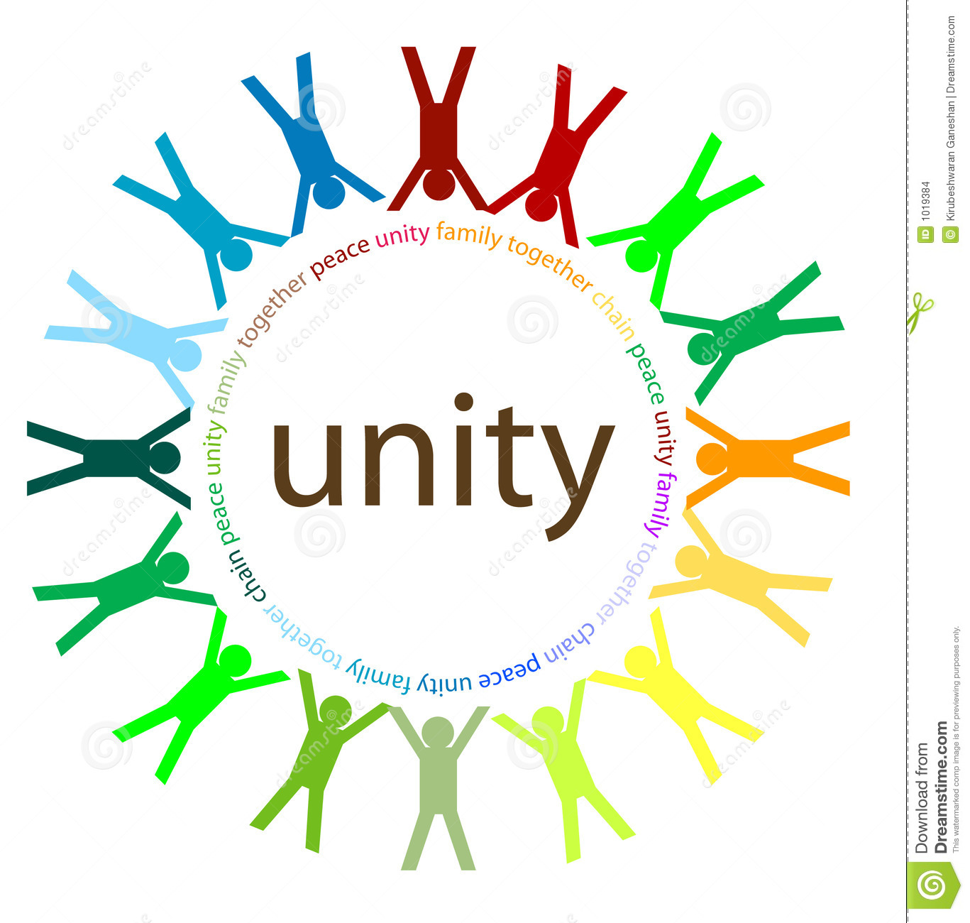 Unity And Peace Stock Images - Image: 1019384
