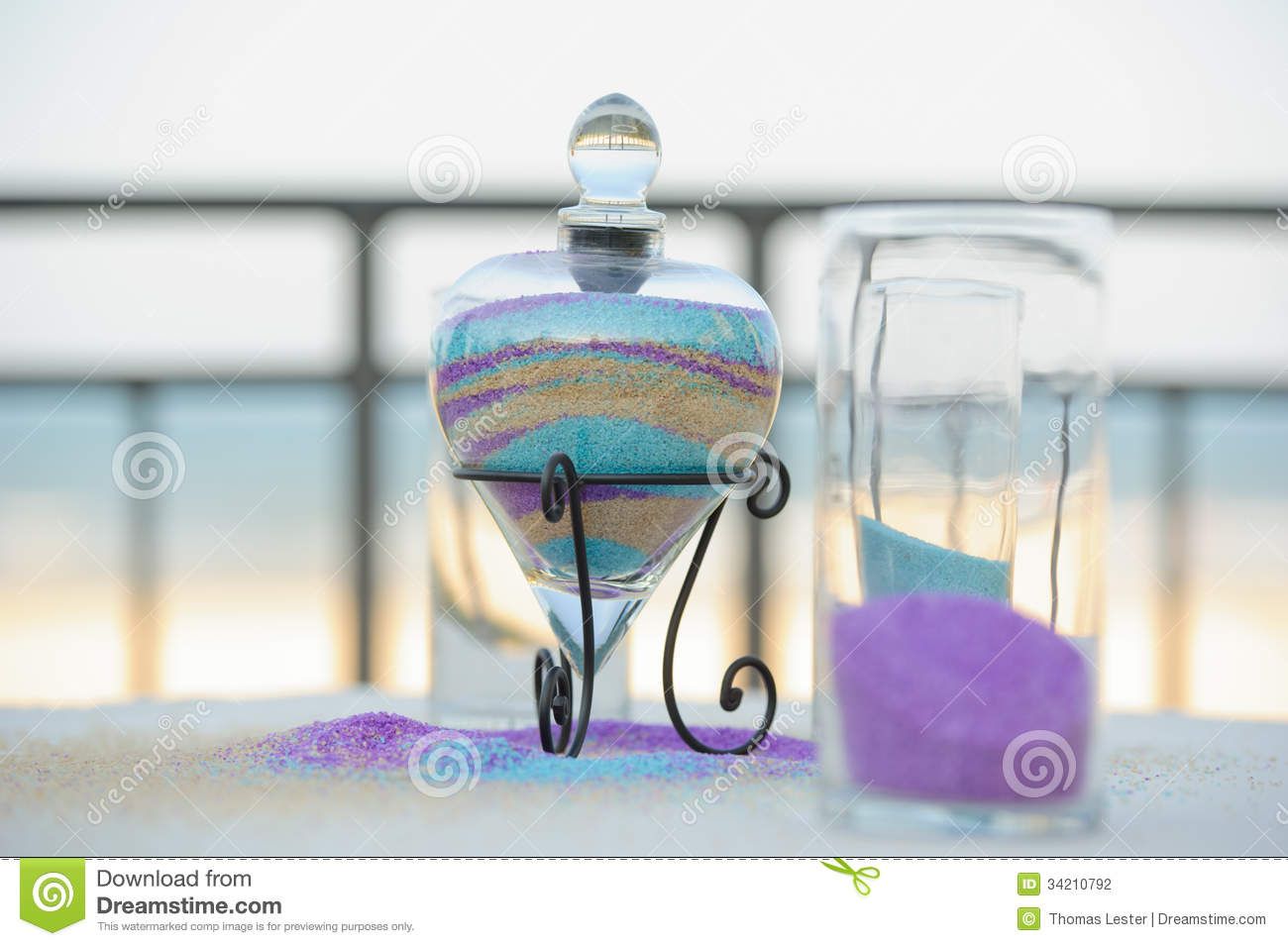 Unity Sand Container Stock Photography Image 34210792