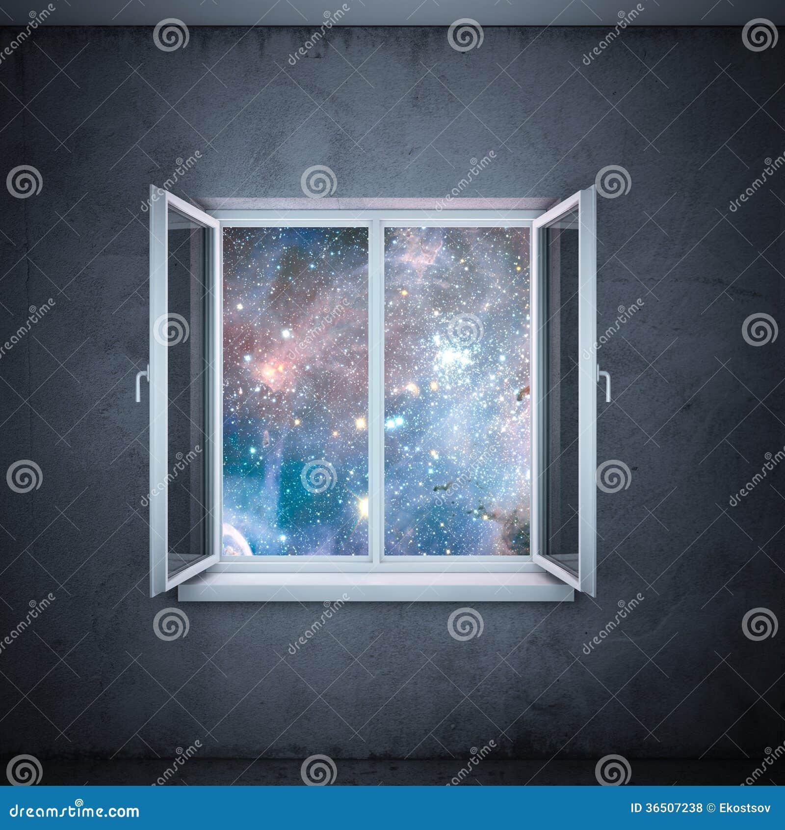 Univers dans la fenêtre (éléments meublés par la NASA)