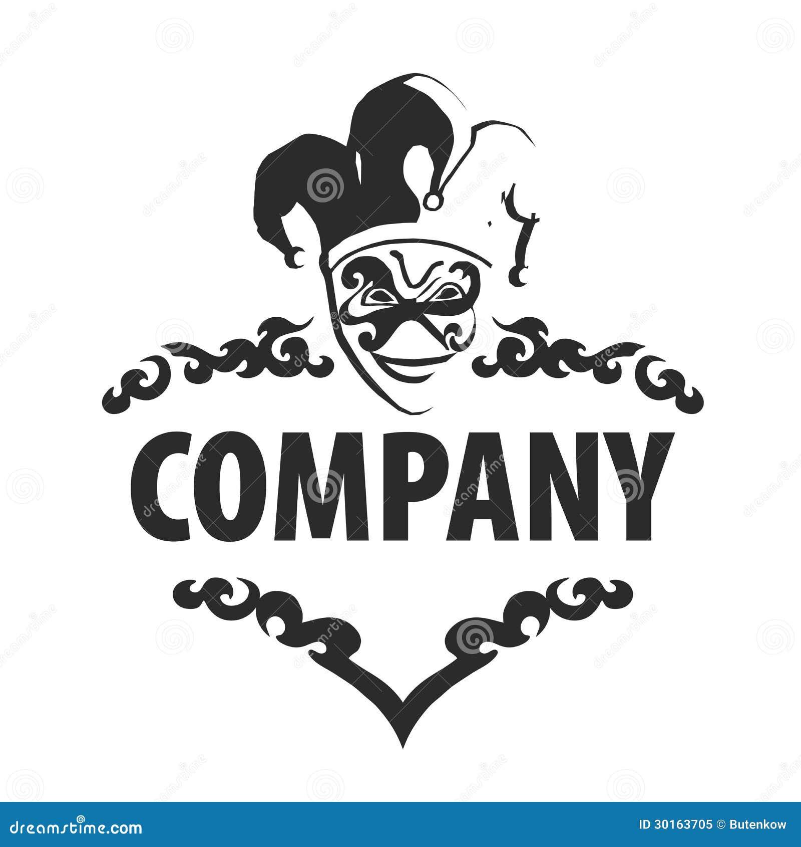 logo joker stock vector illustration of illustration 30163705