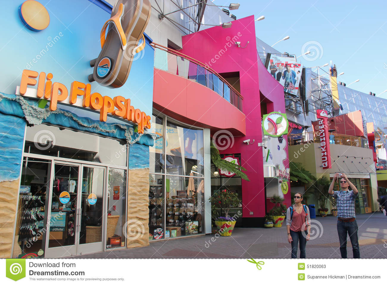 Universal Citywalk Hollywood Editorial Stock Photo Image Of