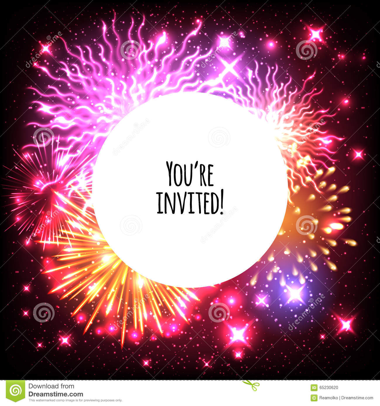 Glow Invitation for adorable invitations layout